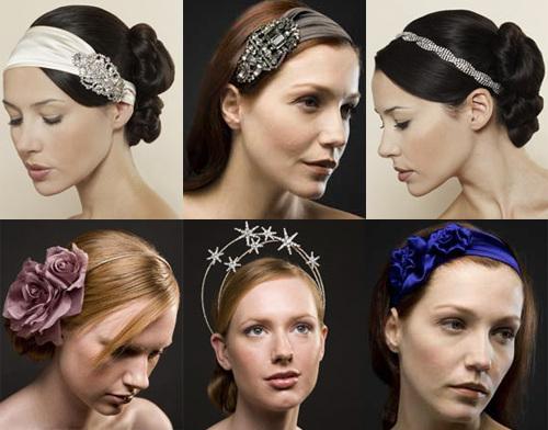 Осенью-зимой 2010 года образ будет незаконченным без украшений дл волос.  Аксессуаров для причесок существует.